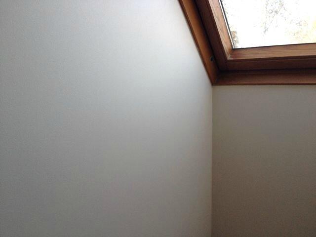 Travaux un an apr s attraper le temps qui file for Retouche peinture plafond