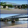Le pont suspendu de branne (33 gironde)