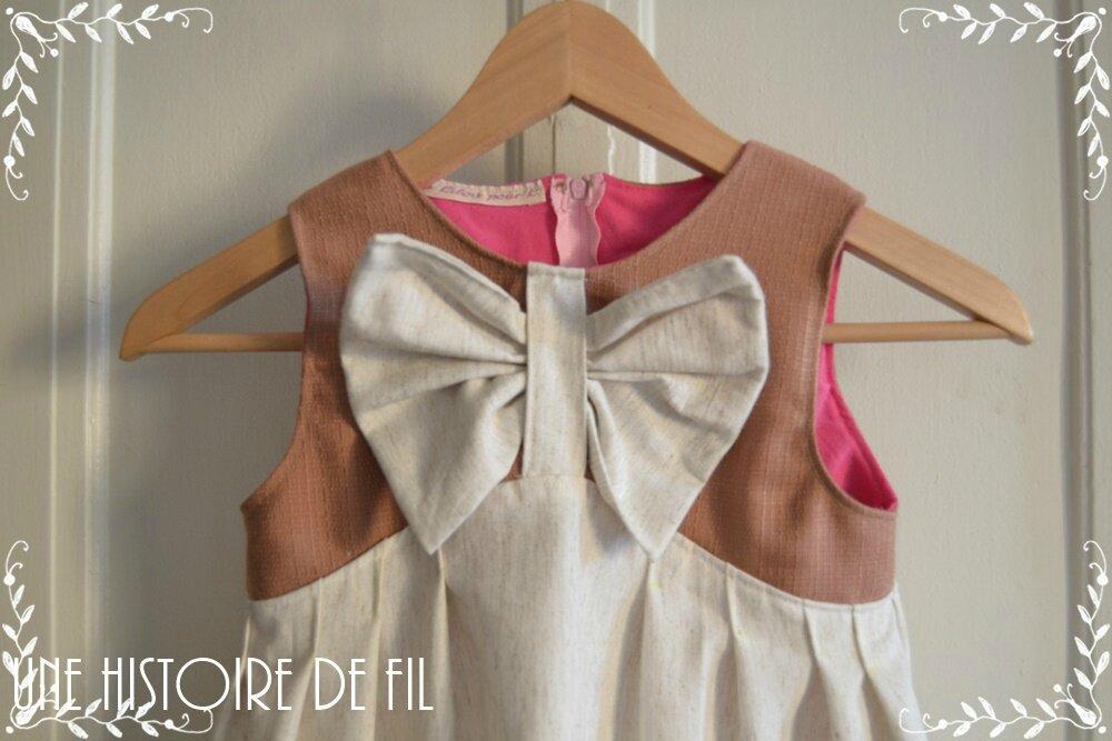 Connaissez-vous Lucy ? La jolie robe pour petite fille !