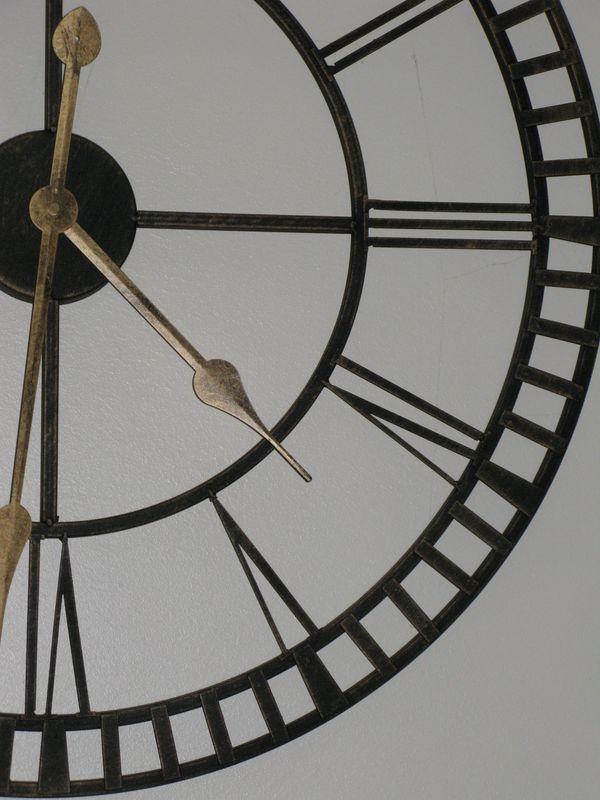 horloge vert