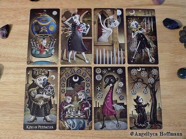 Deviant Moon Tarot 3- Blog ésotérique Samhain Sabbath