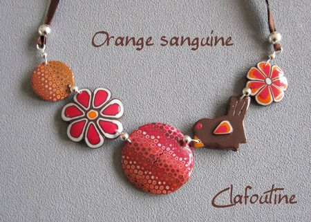 Orange-sanguine
