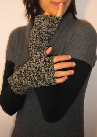 Diy des mitaines pour l 39 hiver tricot facile the - Comment tricoter des mitaines avec doigts ...