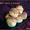 Muffins chvre & tomates