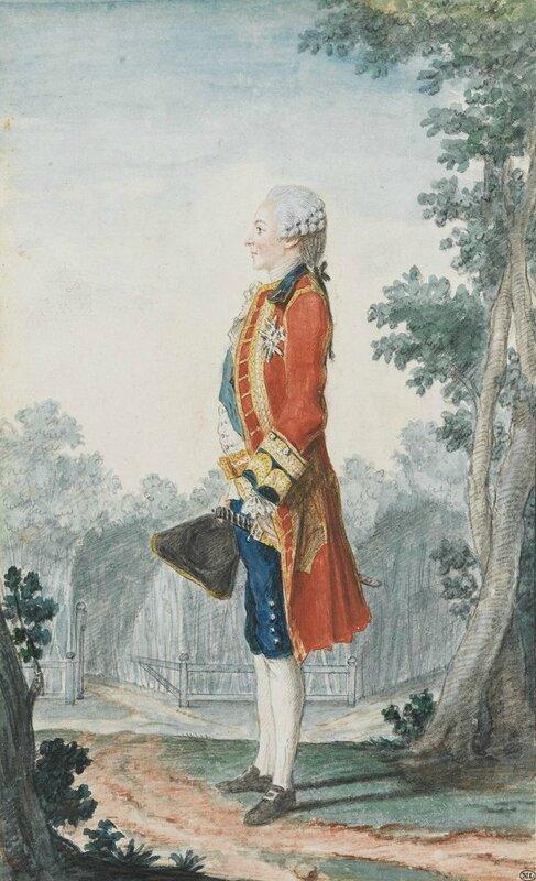 Louis Carrogis dit Carmontelle (Paris 1717 – 1806), Le duc de Chartres en habit de Saint-Cloud