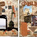 Page 30 x 30 cm : Le scrap