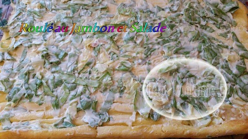 Roulé jambon salade au Thermomix 2