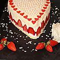 Entremet fraise chocolat blanc / un petit vote svp...