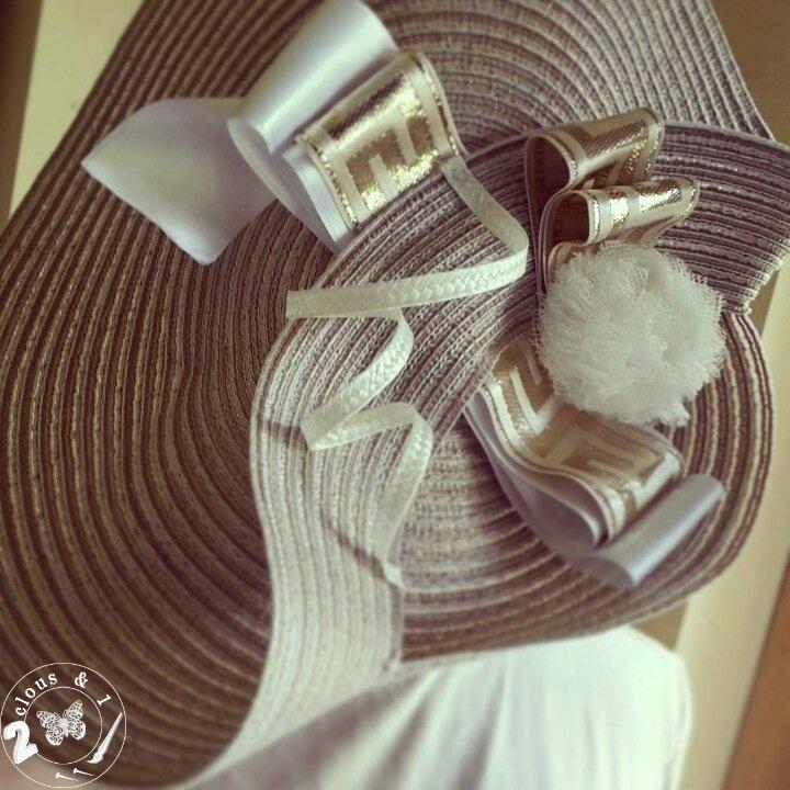 chapeau blanc_or