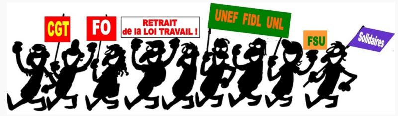 social - une journée de mobilisation syndicale interprofessionnelle, étudiante et lycéenne jeudi 16 novembre 2017