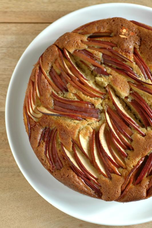 Gâteau pommes & frangipane_7