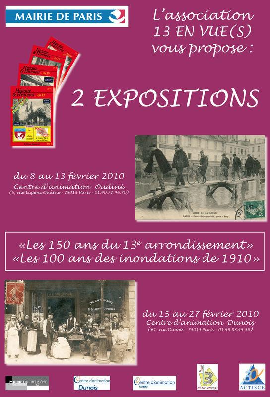 2 expositions en f vrier 2010 paris 13e en images for Expo paris fevrier