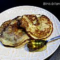 Blinis a l'ananas