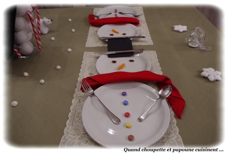 table bonhomme de neige-2818