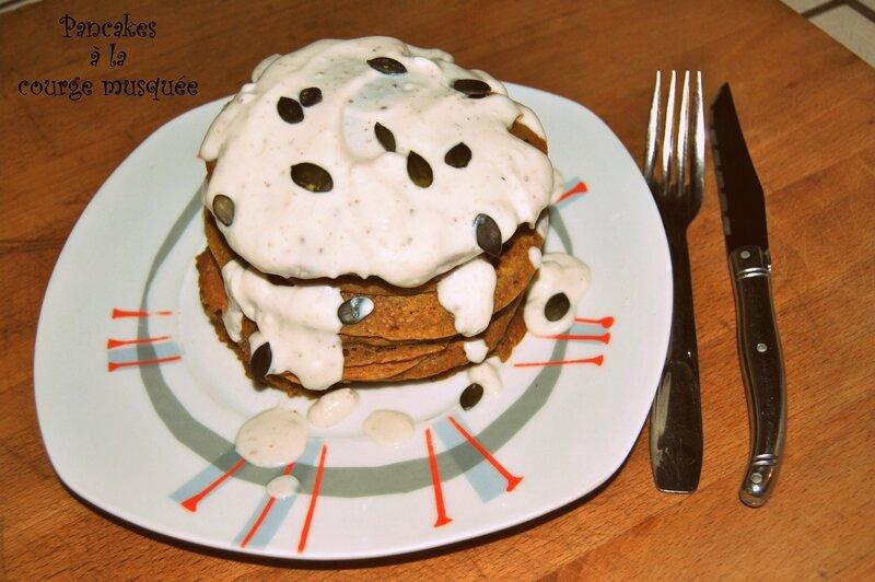 Pancakes à la courge musquée 1