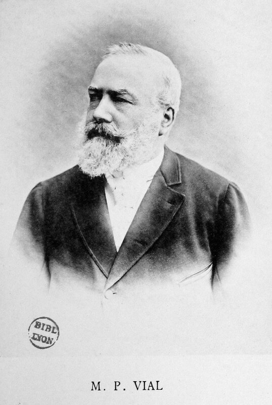 Petrus Vial portrait