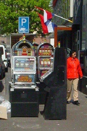 parcomètre insolite à La Haye(Casino)