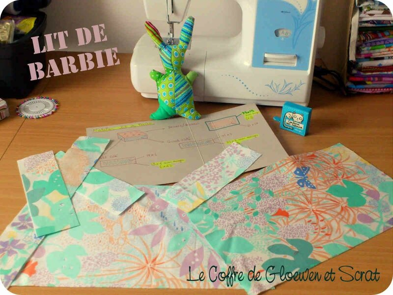 Couture Lit de Barbie by Gloewen (1)