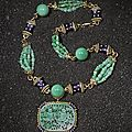 Impressive jade pendent necklace, david webb, 1968