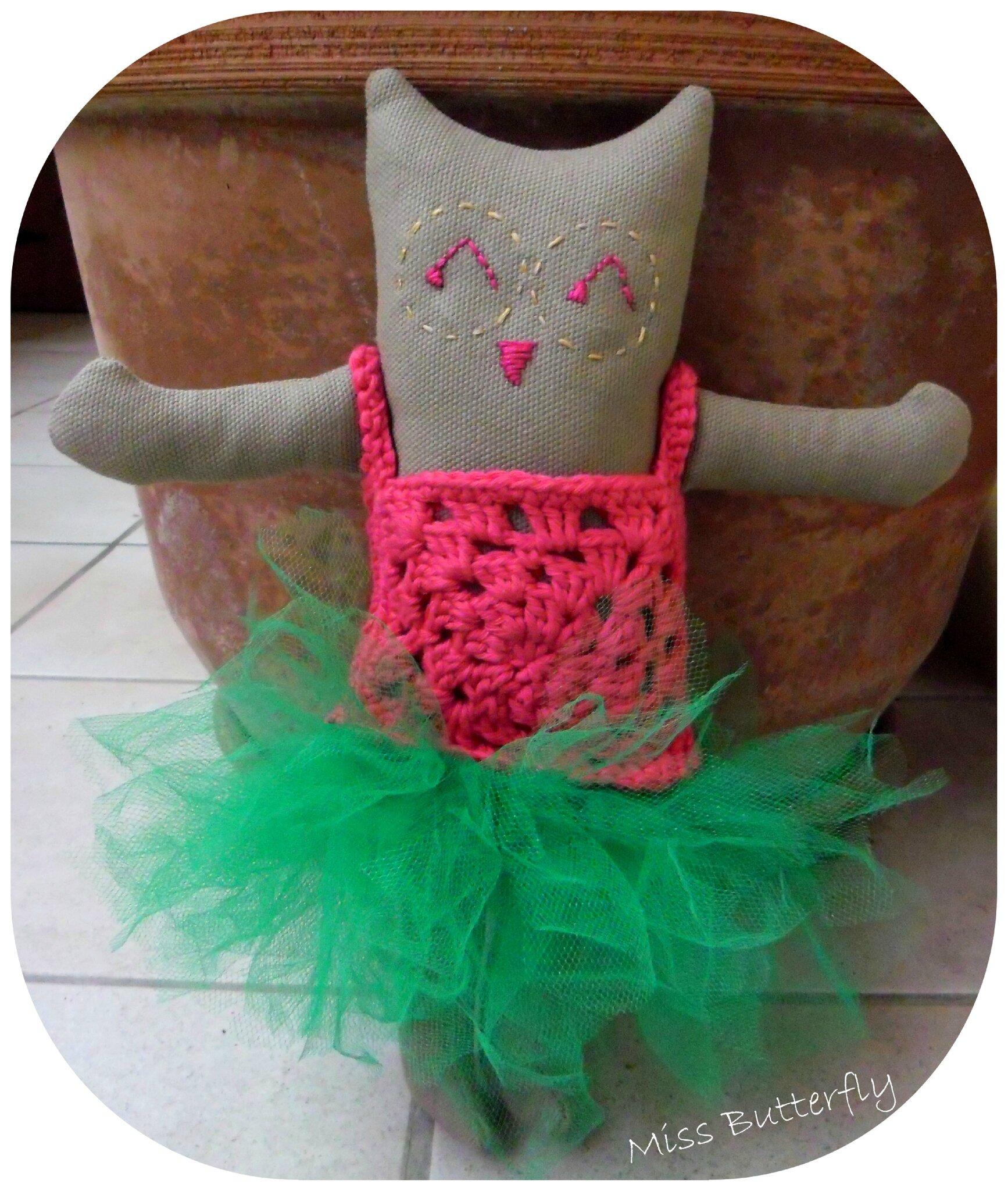 Coco-Berry chouette mascotte