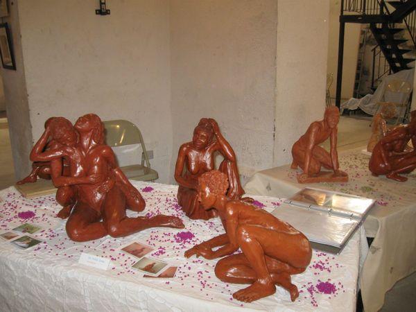 Sculptures de M