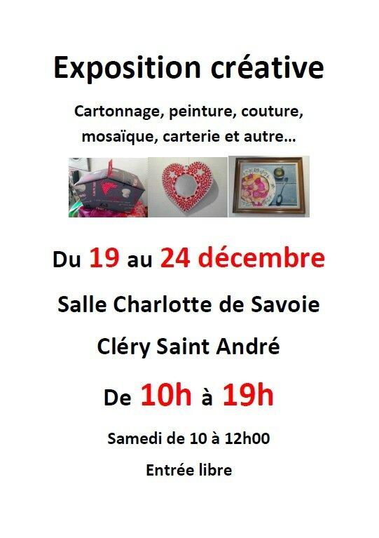 Exposition créative Noël 2016