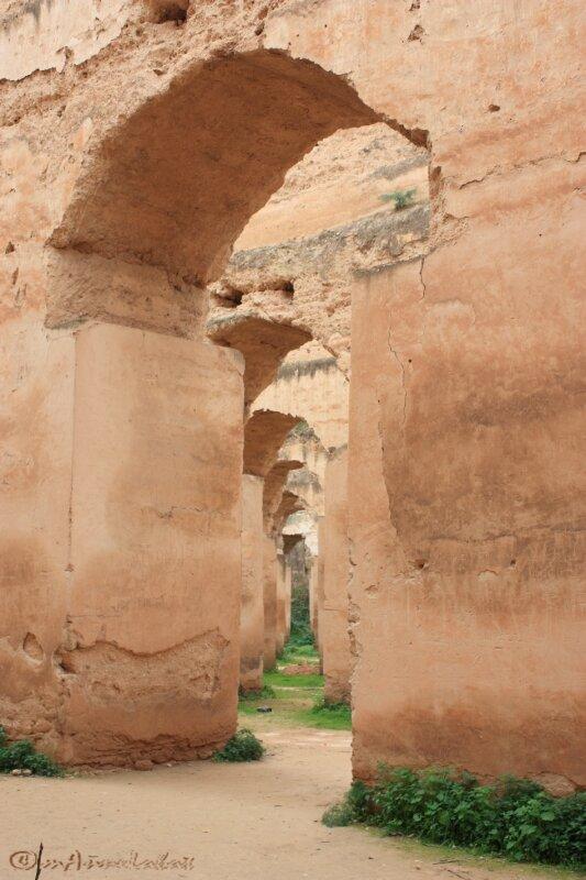 ©06_perspective diagonale dans Hri Moulay Ismaïl