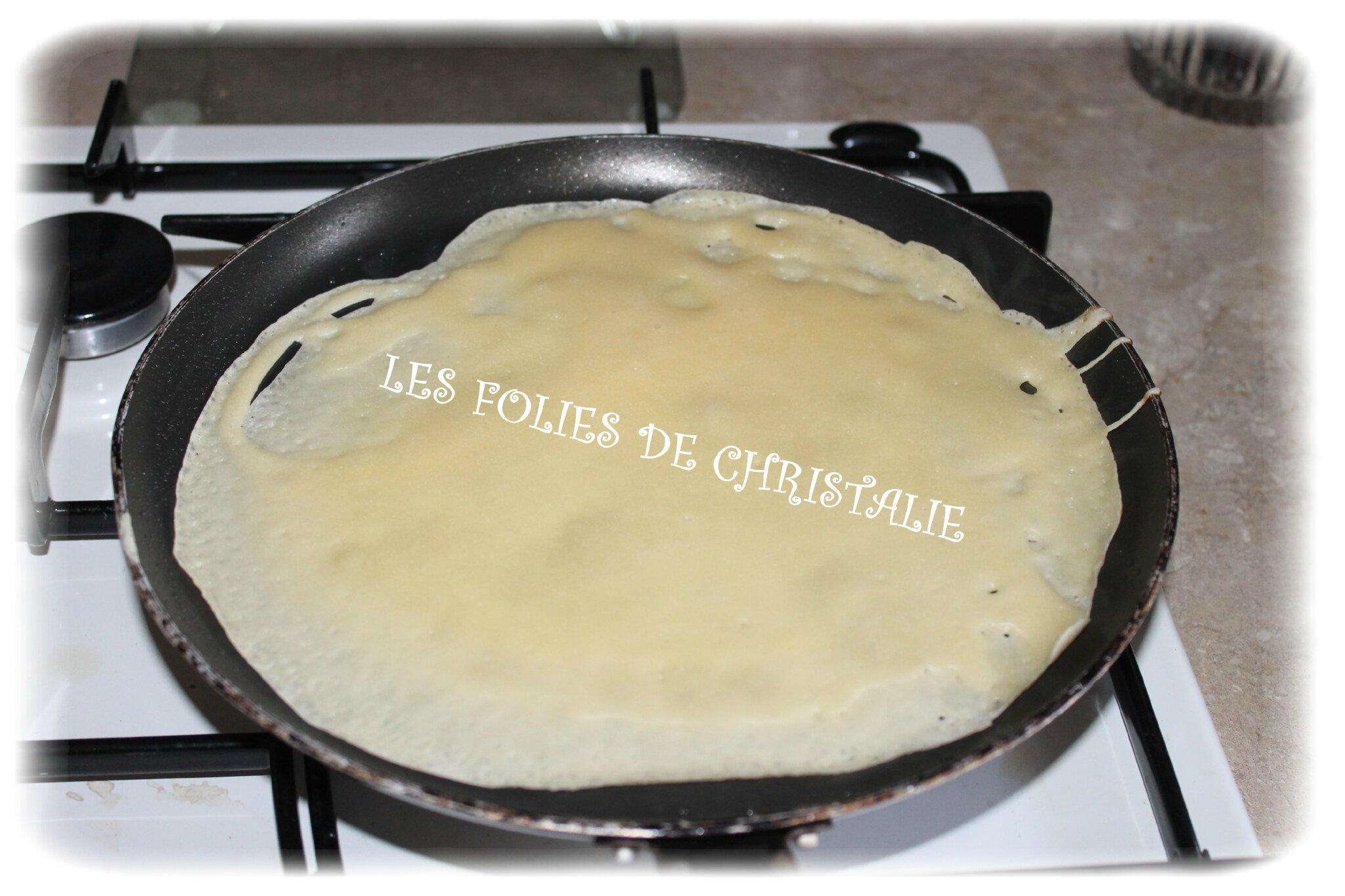 Cr pes et p te cr pes au lait concentr non sucr les folies de christalie ou quand la - Pate crepe thermomix ...
