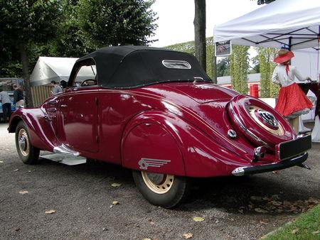 PEUGEOT 302 Cabriolet 1937 Classic Gala de Schwetzingen 2009 2