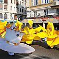 Hëidi mon amie suisse au carnaval de nice !