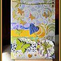 Carte aux papillons et son tag