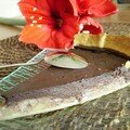 Tarte au chocolat banane