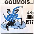 Affiche goumois international 1977