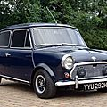 Mini at the centre of london's swinging 70s offered at h&h classics