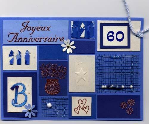 Carte d'anni B.60 ans (2005)
