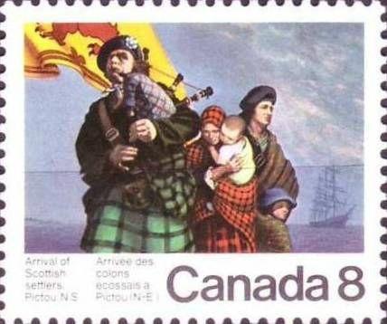 Cornemuse Timbre Canada 1973