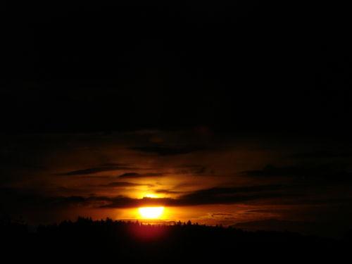 2008 05 13 Le coucher du soleil