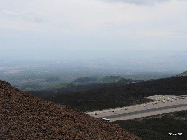Cratère Silvestri supérieur - Etna - Sicile