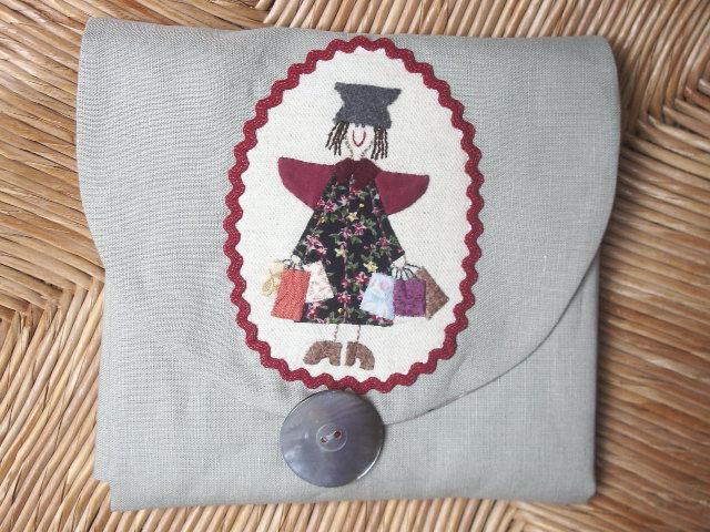 sac colo d 39 apr s plume de lin chez f efils. Black Bedroom Furniture Sets. Home Design Ideas