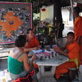 Bonzes a Chiang Mai