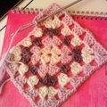 My first granny square...