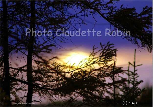 CR-210 - Coucher de soleil - oeil de Dieu