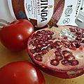 Salade quinoa tomate grenade