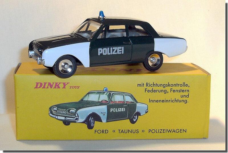 Dinky Atlas Ford Taunus 17M Polizei A 1