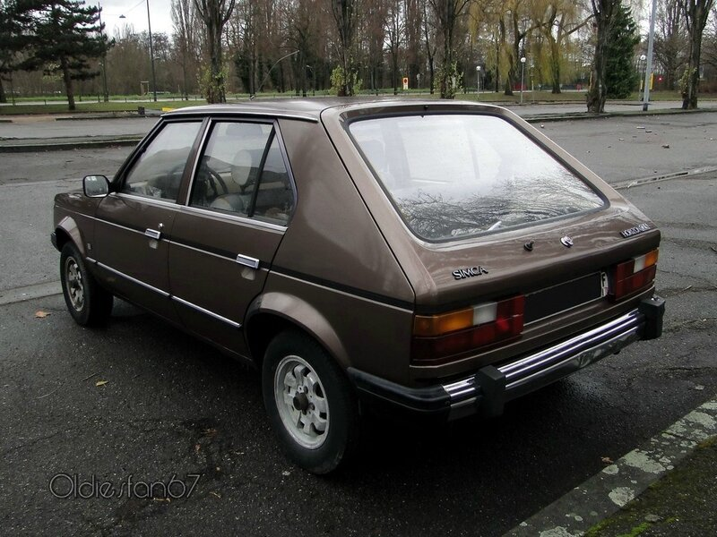 simca talbot horizon 1 5 gls 1977 1985 oldiesfan67 mon blog auto. Black Bedroom Furniture Sets. Home Design Ideas