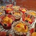 Mini-cakes poivron rouge et feta