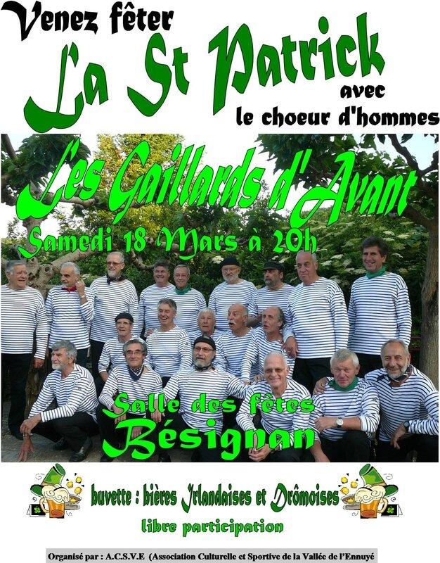 Bésignan Chants Irlandais