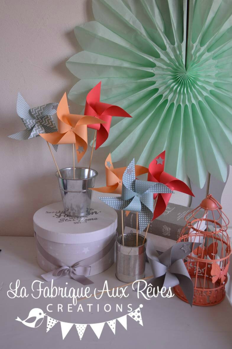 moulins vent abricot peche corail argent vert eau mariage photobooth bapteme baby shower. Black Bedroom Furniture Sets. Home Design Ideas
