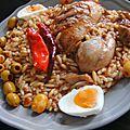 Tlitli: plat de l'algérie de l'est