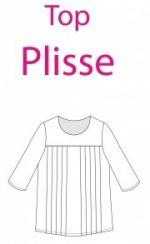 Made In Me Couture - Top Plissé